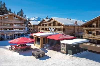 »W Kitchen« in Verbier