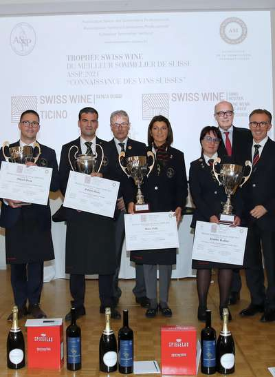 Meilleur Sommelier de Suisse ASSP 2021