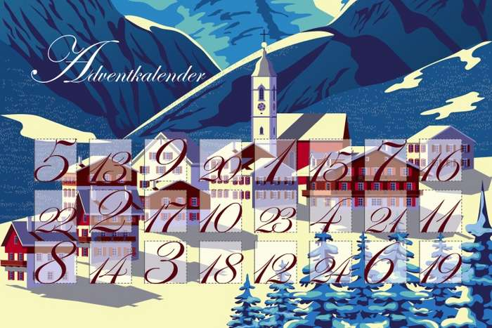 Der Falstaff Travel Adventkalender