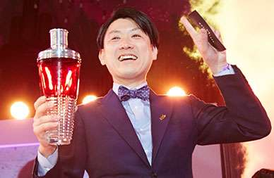 Der beste Barkeeper der Welt heisst Michito Kaneko – weitere Impressionen vom Diageo World Class Final in der Bilderstrecke ... / © Diageo World Class 2015